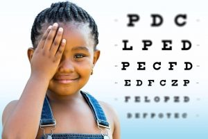 child eye exam preview